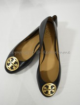 NIB Tory Burch Style 52785 Benton Ballet Flat Shoes /Flats in Black Napa... - $189.00