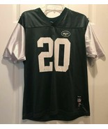 Reebok New York Jets NFL Football Jersey Boys Size XL 18 20 Thomas Jones... - $7.99