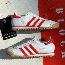 adidas Originals City Series Vienna OG White/Red Trainers - $132.46