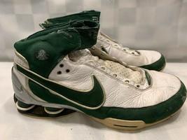 NIKE Shox Elite Basketball 2007 Men's Shoes Size 11 Green White 316904-131 - $79.19