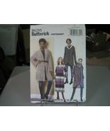 Butterick B6251 Sweater, Jacket & Coat Pattern - Sz L/XL/XXL (16-26) Bus... - $9.89