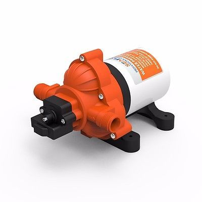 Seaflo Marine Grade Boat Water Pump 1//2 FNPT to 1//2 MNP Angled Fitting