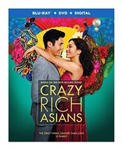 Crazy Rich Asians [Blu-ray+DVD+Digital, 2018] - $27.95
