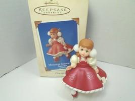 Hallmark Keepsake Madame Alexander Holiday SnowFlake Skater Christmas Ornament - $9.49