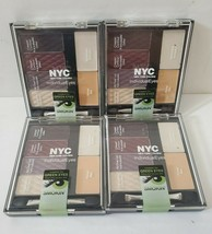 NYC New York Color Individual Eyes Eyeshadow #943 Smokey Greens Lot of 4... - $26.72