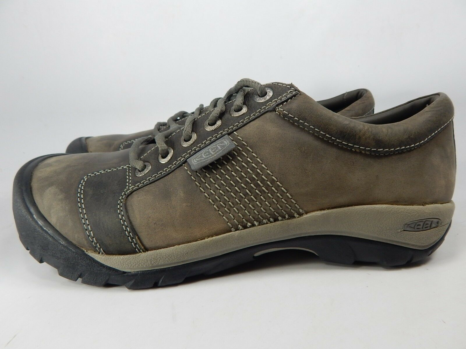 Keen Austin Sz US 12 M (D) EU 46 Men's Lace-Up Oxford Casual Shoes Gray 1016828