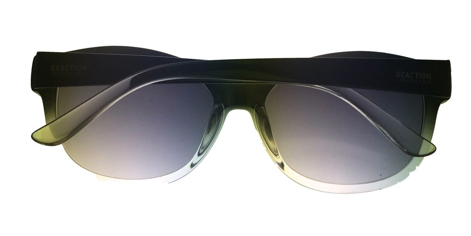 Kenneth Cole Reaction Mens Plastic Sunglass Black Fade, Gradient KC1290 5B image 5