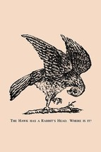 The Hawk Has a Rabbit's Head. Where is it? by American Puzzle Co. - Art Print - $19.99+