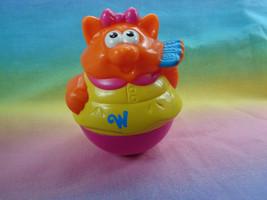 Playskool Weebles 2003 Hasbro Orange Cat Plastic Figure - $2.92