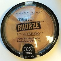 Maybelline Facestudio Master Bronze Powder - 330 - Paradise Bronze - 1pc - $4.99