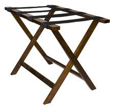 Deluxe Wood Luggage Rack  - $30.00