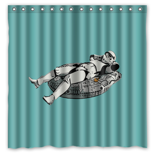 Novelty Bathroom Products! Printed Waterproof Polyester Shower Curtain/ - $47.09