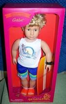 """Our Generation GABE 18"""" Boy Doll New - $35.52"""