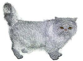 Amazing Custom Cat Portraits[Persian Cat] Embroidered Iron On/Sew patch ... - €10,22 EUR