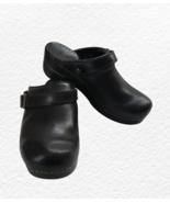Dansko Clogs Black 38 Mules Shoes US Womens Size 8  - $45.00