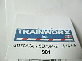 Trainworx Stock # 901 SD70ACe / SD70M-2 Detail Kit  N-Scale image 3