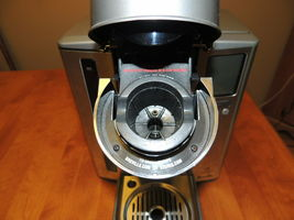 Breville BKC 700 XL Stainless Steel Gourmet Keurig K- Cup Coffee Brewer BKC700XL image 7
