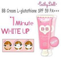 Cathy Doll Whitening BB Cream L- Glutathione Sunscreen UVA/UVB SPF 59 PA... - $18.00