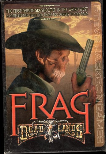 Primary image for Steve Jackson Frag - Frag - Deadlands (Board Game)