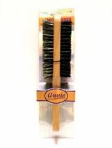 Annie 2 Way Wooden Brush 100% Boar W/ Reinforced Bristles Soft & Hard #2092 - $2.96