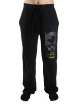 DC BATMAN MEN'S XL EMBROIDERED LOGO LOUNGE PAJAMAS PANTS NWT - $17.73