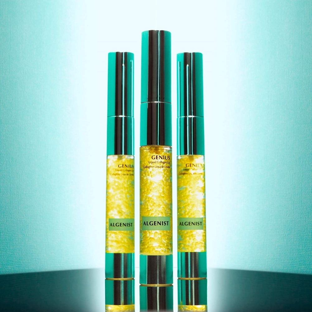 algenist genius liquid collagen lip - active vegan collagen lip treatment