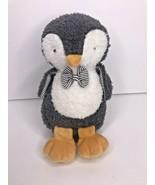 "Bunnies by The Bay Grey Owl  Baby Soft Toy Plush NEW Stripes Bow Tie 8""  - $62.83"