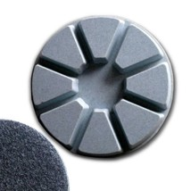 "4"" (100mm) Grit 100, Pie Polishing Pad, Dry Use, Hook and Loop Backing - $22.28"