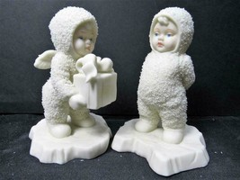 """IS THAT FOR ME 6803-9"" Dept 56 D56 Snowbabies CHRISTMAS FIGURINE - $3.79"