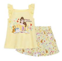 New Disney Store Beauty and the Beast Belle Short Sleep Set for Girls Sz 4 - $24.99