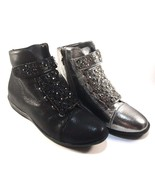 Lady Couture Rock Pewter Round Toe Flat Dress Sneakers  - $60.00