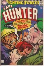 DC Our Fighting Forces #105 Capt Hunter Vietnam Shocker Blood Loyalty - $4.95