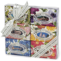 Dolce Vivere Soap Gift Set of 6 psc by Nesti Dante Made in Italy - $42.99