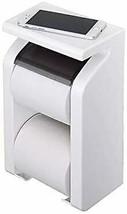 [Made in Japan] GR Paper stock holder with shelves white - $51.39