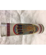 "La Mano Poderosa The Powerful Hand  8"" Glass Candle New  - $9.90"