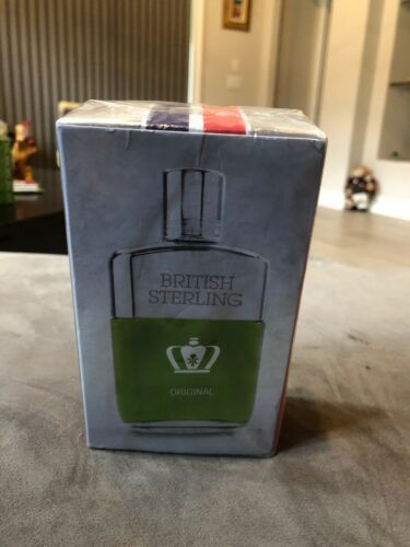 BRITISH STERLING ORIGINAL by DANA AFTER SHAVE 3.8 oz SEALED