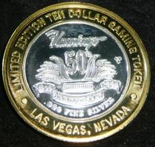 1996 Flamingo Hilton 50th Anniversary $10 LIMITED EDITION  Casino Token - $78.21