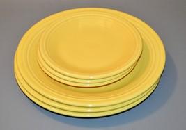 Lot of 6 Fiestaware - Sunflower - Dinner Salad Plates - Very Good 2005-2006 - $61.75