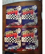 LOT OF 4 VINTAGE 1992 MATCHBOX RACING SUPER STARS -White Rose New in Pac... - $18.95