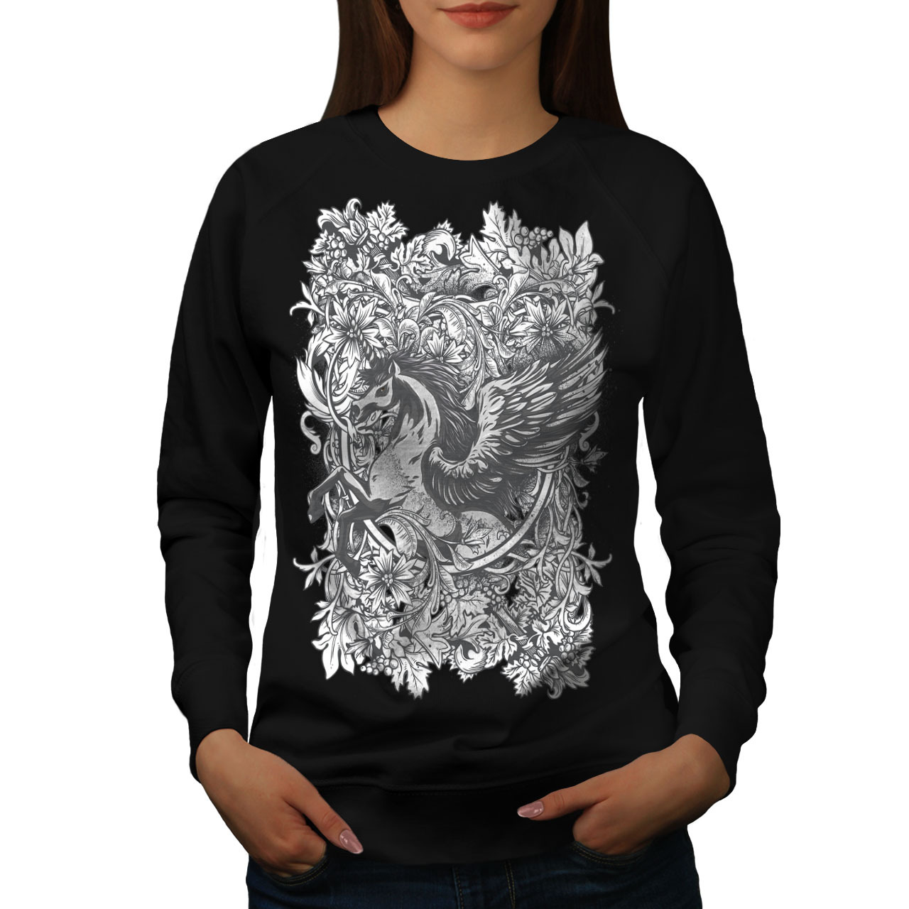 Primary image for Epic Unicorn Horse Jumper Mythical Women Sweatshirt