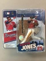 2006 Mcfarlane MLB Series 15 ANDRUW JONES Atlanta Braves figure MIP base... - $11.64