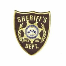 The Walking Dead Rick's King County Sheriff's Dept. Embroidered Patch NE... - $7.84