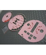 KPH Kilometers 92-95 Honda Civic Auto Pink White Face Glow Through Gauge... - $19.79
