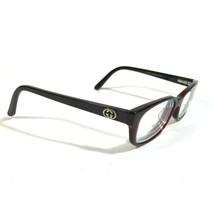 Gucci Dark Red Purple Rectangular Cats Eye Eyeglass FRAMES ONLY GG3569 L... - $70.13