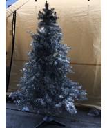 VINTAGE 6  Ft. Rhine Pine  Branch Aluminum Tinsel Christmas Tree - $198.00