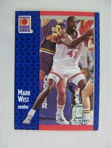 Mark West Phoenix Suns 1991 Fleer Basketball Card 165 - $0.98