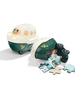 TOP BRIGHT Jigsaw Puzzles in A Boat Toy - Toys for 3 Year Old Boy Gifts ... - $13.11