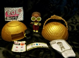 LOL Surprise Boys Series 3 Steezy Ultra Rare Doll with Ball & Accessories - $14.99