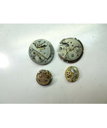 ALPHA HARPER BENRUS BULOVA WATCH MOVEMENT PARTS AND CASE FOR YOUR RESTORATIONS  - $82.24