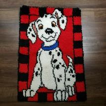 """Caron Disney 101 Dalmatians Puppy Dog 20""""x 30"""" Latch Hook Yarn Rug Wall Art - $49.49"""